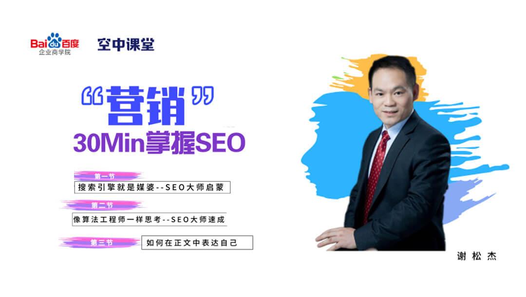 30分钟教你学会SEO,迅速提升网站排名