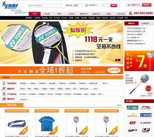 企业网站建设成功案例  Zshop商城系统